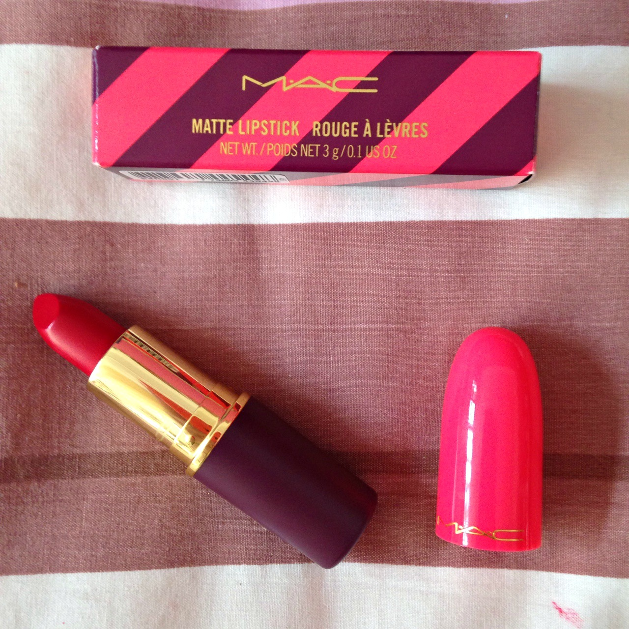 MAC Give In Lipstick. – Megan Monroes